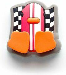 Roze Canar Eend Tandenborstel Houder voor Kinderen met Zuignap - Racer