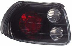 Universeel Set Achterlichten Honda CRX/DelSol 1992-1998 - Zwart