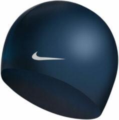 Nike Unisex Solid Silicone Cap Midnight Blauw
