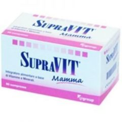 SUPRAVIT MAMMA 60 compresse 60CPR Complemento alimentare multivitaminico per la gravidanza CODEFAR