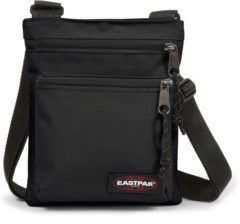 Zwarte Eastpak Rusher Schoudertas - 1.5 liter - Black