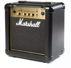 Zwarte Marshall MG10G Black & Gold