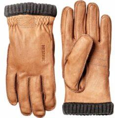 Hestra - Deerskin Primaloft Rib - Handschoenen maat 8, beige/bruin