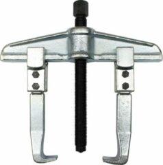 Zilveren Normex Poelietrekker met 2 armen - 350 x 200 mm