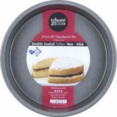 Zwarte Wham Cook Essentials Taartvorm - Non Stick - Rond - 21 cm