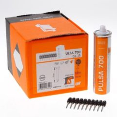 Spit pulsa nagel C 6 x 35mm + gas p700