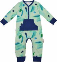 Blauwe Baba Babywear Baba - Pyjama zonder voetjes - Seaworld - 6m