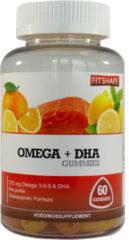 Fitshape Omega Dha Gummies 60 stuks