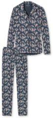 Pyjama, geknöpft Schiesser blaugrau