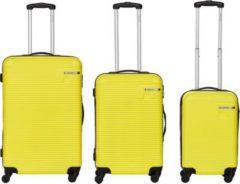 Packenger Koffer Bannisters Hudson Koffer 3er-Set Blau