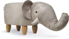 Grijze Feel Furniture Animal chair - Olifant