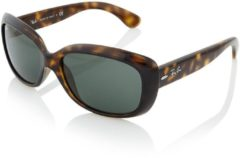 Bruine Ray-Ban Sonnenbrille Jackie Ohh RB4101 710 Gr. 58-18 in light havana