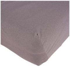 Cottonbelle Baumwoll-Spannbettlaken, 100 x 200 cm, grau