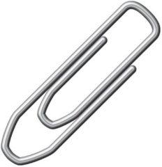 Zilveren Merkloos / Sans marque 100 stuks kleine paperclips 21 mm