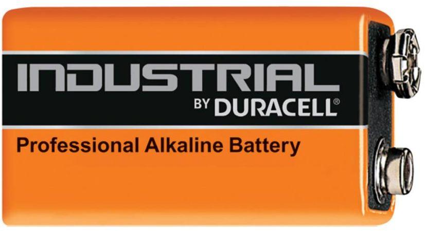 Afbeelding van Duracell batterij, niet oplaadbaar alkaline Industrial, 48.5x26x17.5mm
