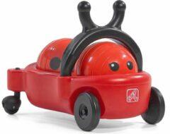 Rode Step2 Bouncy Buggy lieveheersbeestje - Loopauto en Skippybal kussen in 1