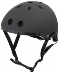 Zwarte Mini Hornit Lids Fietshelm voor Kinderen - met LED achterlicht - Stealth (M)