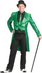 Generik Groene slipjas met glitters voor heren - Volwassenen kostuums - maat 60/62