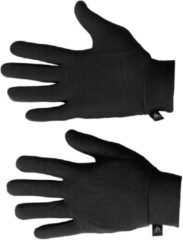 Zwarte Odlo Gloves Originals Warm Unisex Sporthandschoenen - Black - M