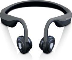Lenco HBC-200 - Bluetooth koptelefoon - met bone conduction - Grijs