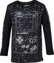 Zwarte Difuzed Nintendo - Gameboy Longsleeve Kids T-shirt 110/116