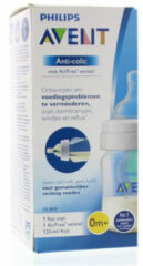 Witte Philips Avent anti-colic SCF810/14 - Babyfles (125 ml) Antikrampjes met AirFree ventiel - 1 stuk