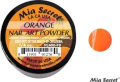 Oranje Mia Secret Fruity Acrylpoeder Orange