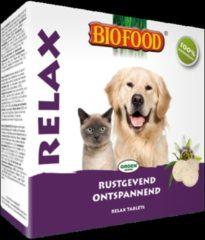 Biofood Gistsnoepjes Relax Hond/Kat - Hondensnacks - Naturel 100 stuks