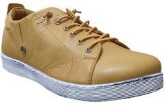 Gele Nette schoenen Andrea Conti 0348736 sneaker