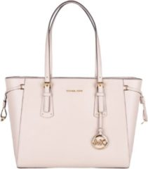 Michael Kors Schoudertassen Voyager Medium Top Zip Tote Roze