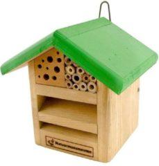 Natuurmonumenten Insectenhuisje Voor Lieveheersbeestjes En Bijen - Nestkast - 18x16x18 cm