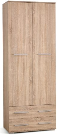 Afbeelding van Home Style Kledingkast Lima 77 cm breed in sonoma eiken