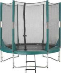 Etan Hi-Flyer 08 Combi Trampoline set- Ø 244 cm - incl. Veiligheidsnet - Uv-bestendig Randkussen - Groen - Rond