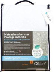 Witte Gilder Tencel Bio (waterdichte) hoeslaken 70 x 200 cm