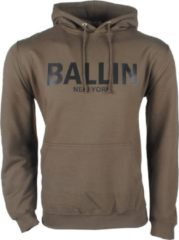 Ballin New York Ballin - Heren Trui - Capuchon - Sweat - Kaki