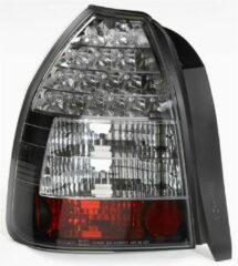 AutoStyle Set LED Achterlichten passend voor Honda Civic HB 3-deurs 1996-2001 - Zwart