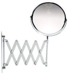Orange85 Make-up Wandspiegel - Harmonica - 2x Vergrotend Vergroting - Zilver - Spiegels - Rond - Make up - Badkamer