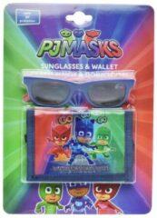 Disney Zonnebril Portemonnee Pj Masks Junior Blauw 2-delig