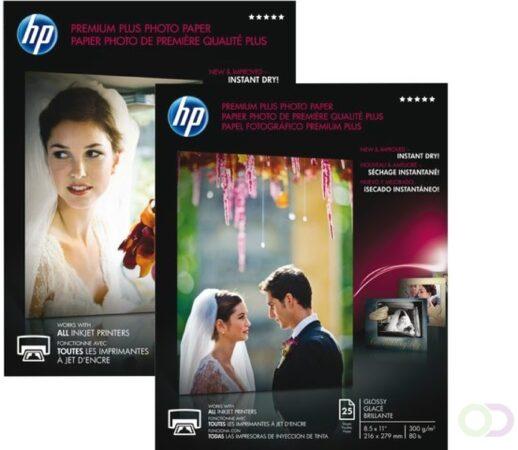 Afbeelding van HP Premium Plus glanzend fotopapier, 20 vel, A4/210 x 297 mm pak fotopapier