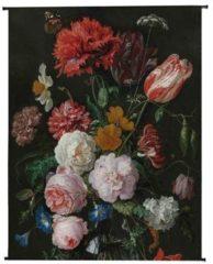 MOOS Cay Wandplaat Bloemen Velvet 140 x 170 cm