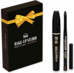 Make-up Studio - Kerst Giftbox vrouw met 2 producten - Mascara Waterproof + Eye Definer