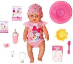 Blauwe BABY born Magic Girl - Babypop 43 cm
