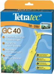 Gele Tetratec bodem stofzuiger voor aquarium GC 40