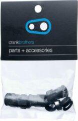 Zwarte Crankbrothers Pedal Refresh Kit voor Double Shot 2/3