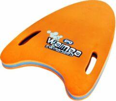 Waimea Zwemplank Pijlvorm EVA Foam 15-30 Kg - Fluororanje/Blauw/Wit/Zwart