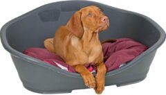 Grijze Stefanplast Sleeper Hondenmand - Antraciet - M: 65 x 42 cm