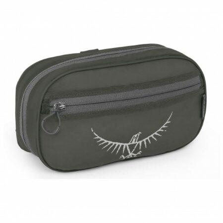 Afbeelding van Osprey - Ultralight Washbag Zip - Toilettas maat One Size, zwart/grijs/olijfgroen