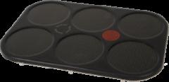 Tefal Grillplatte Gerillt für Grill TS01015621