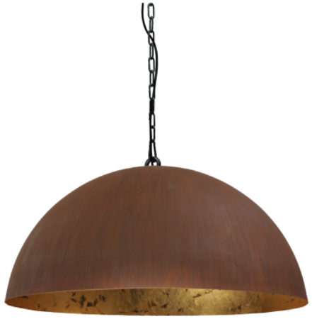 Afbeelding van Masterlight Stoere hanglamp roest Industria Gold 80 Masterlight 2201-25-08-K