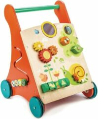 Tender Toys Loopwagen Activity Hout Junior 38 X 38 X 57 Cm